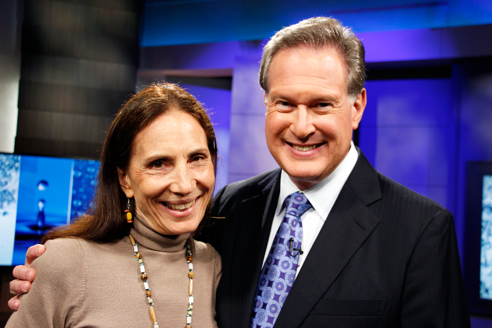 Cindy Gershen and Dr. Robert Lustig co-wrote  The Fat Chance Cookbook. Photo: Wendy Goodfriend