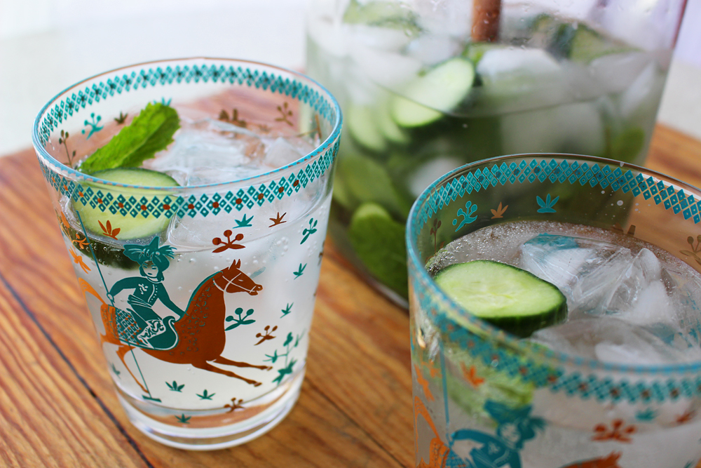 Cucumber-Lemon-Mint Vodka Fizz. Photo: Wendy Goodfriend