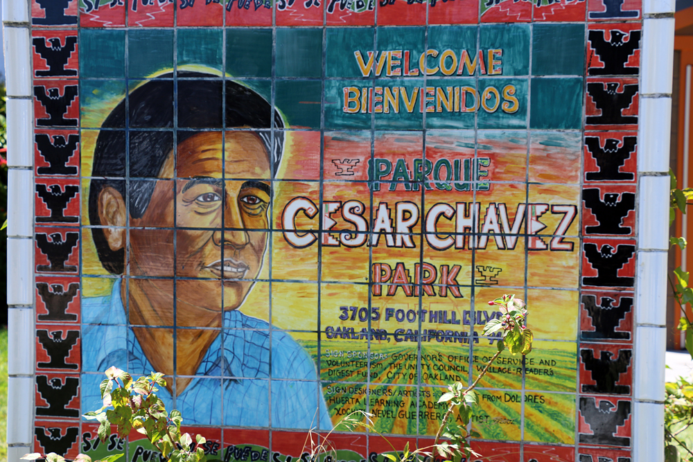 Cesar Chavez Park on Foothill Boulevard in East Oakland