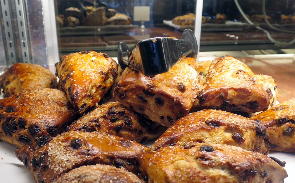 Freshly baked scones. Photo: Anneli Rufus