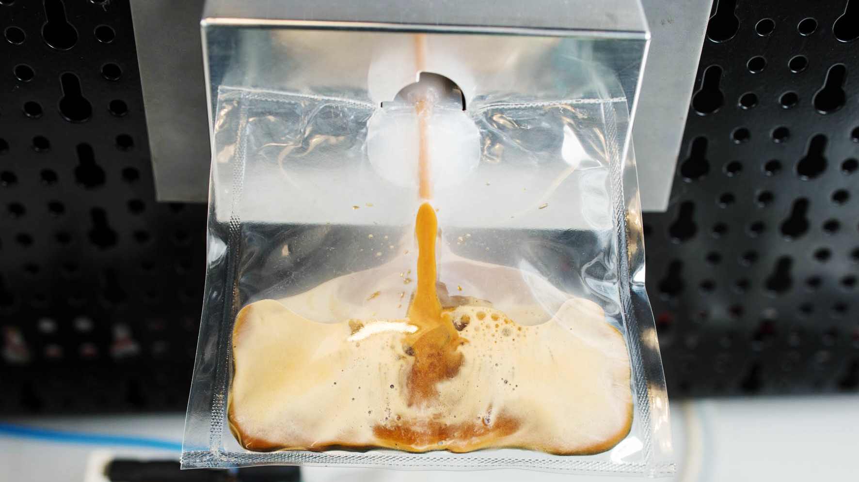 Leave it to the Italians to design a capsule-based espresso system for astronauts who miss their morning cup. Photo: Andrea Guermani/Courtesy of Lavazza
