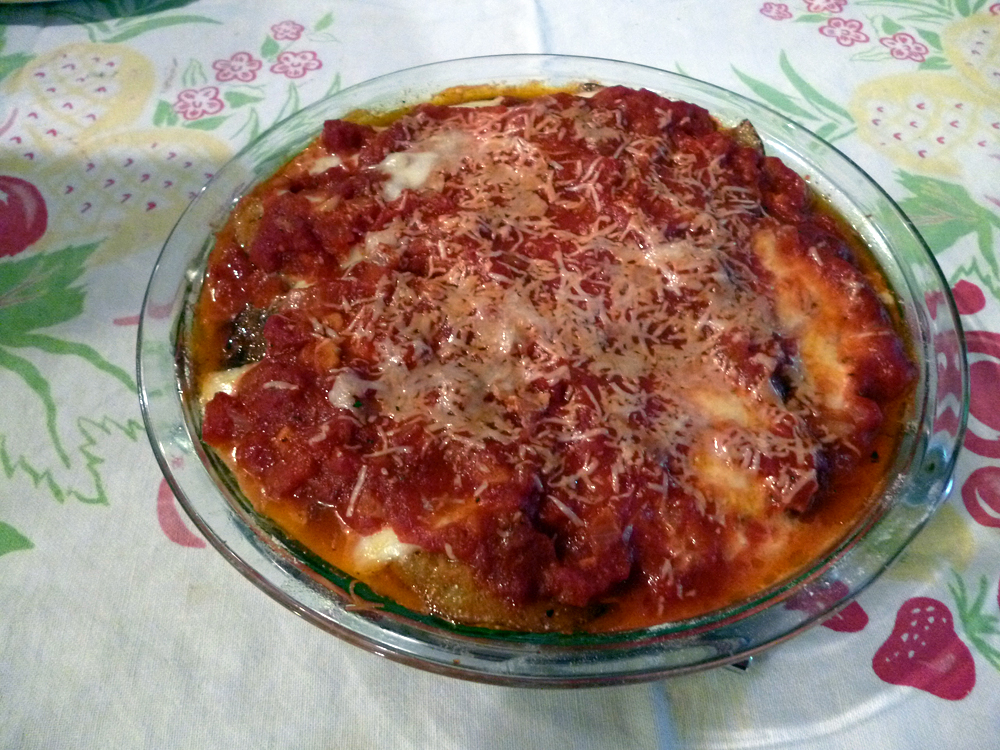 The finished parm