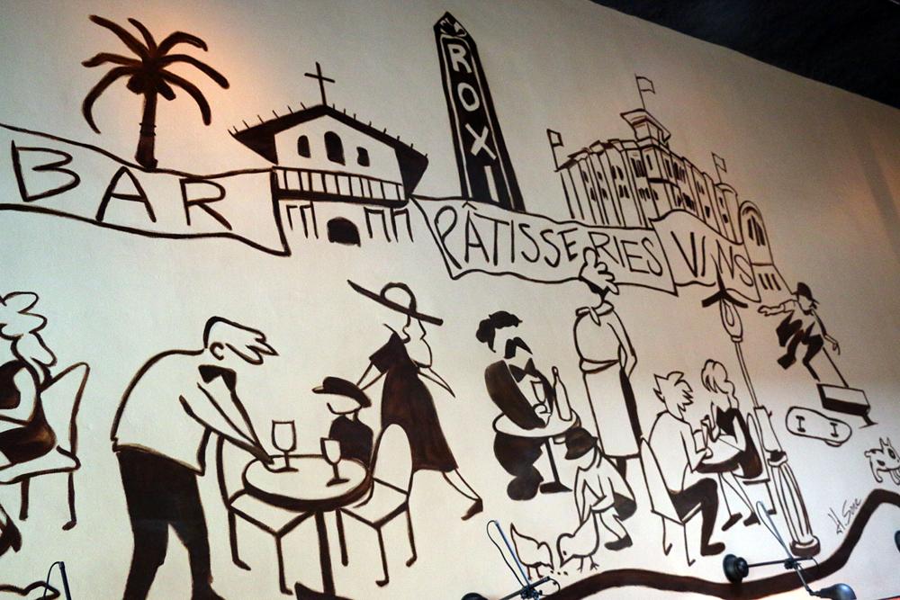 Detail, Hiro Sones mural.
