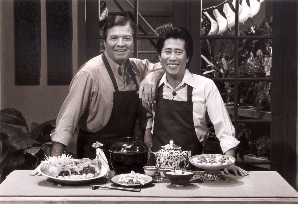 Jacques Pepin and Martin Yan in the early 1990s