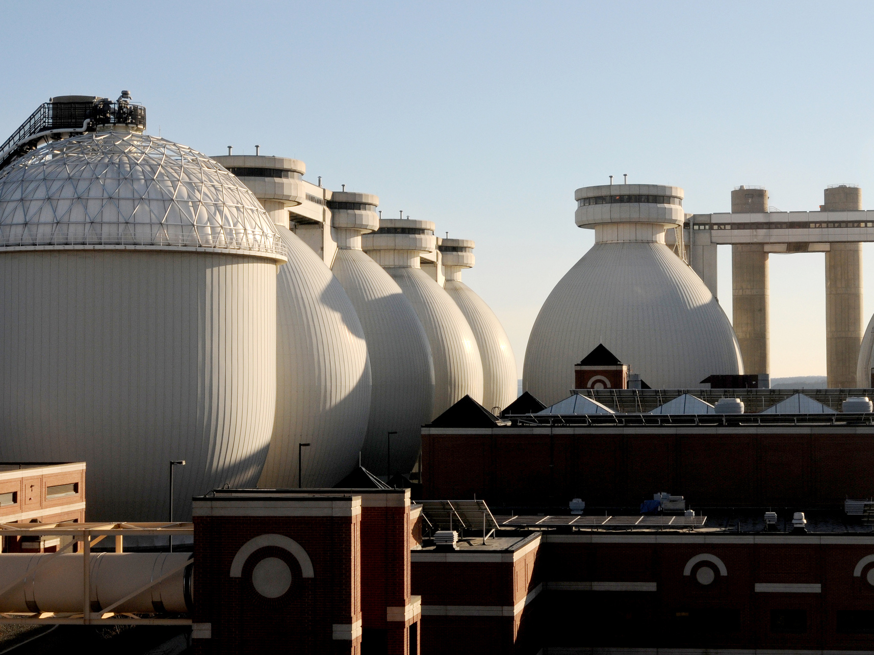 The Massachusetts Water Resources Agency will begin accepting food waste at its Deer Island anaerobic digester near Boston to produce biogas in 2014. Photo: Rachel Schowalter/Massachusetts Clean Energy Center/Flickr