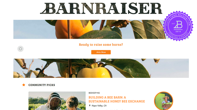 Barnraiser Hopes to Change the Food System, One Project at a Time