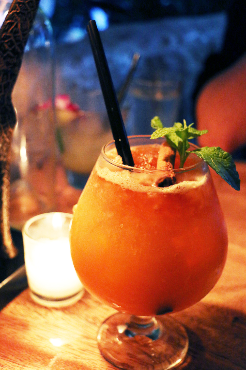 The Queen's Barrel, the strongest cocktail on Longitude's list. Photo: Kim Westerman