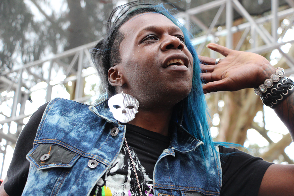 Big Freedia performs at GastroMagic. Photo: Wendy Goodfriend