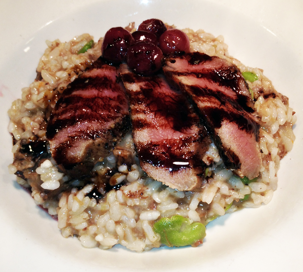 Wild-boar risotto at Palio d'Asti. Credit: Martino Di Grande