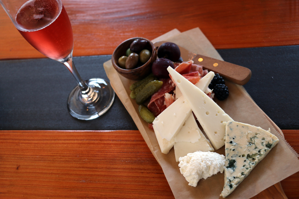 A small ploughman's platter. Photo: Kim Westerman