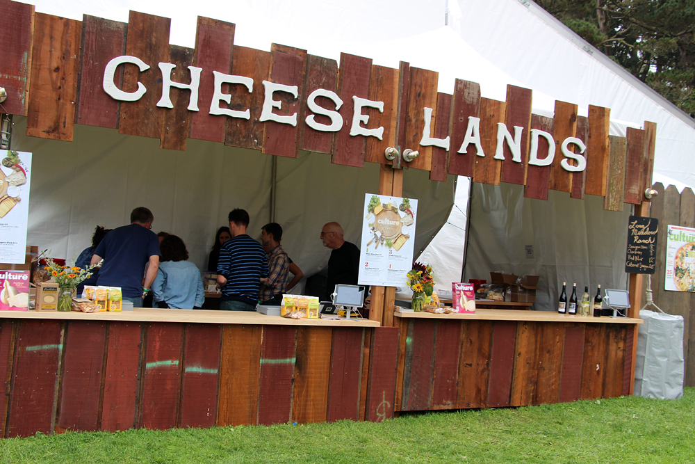 Cheese Lands at Outside Lands. Photo: Wendy Goodfriend