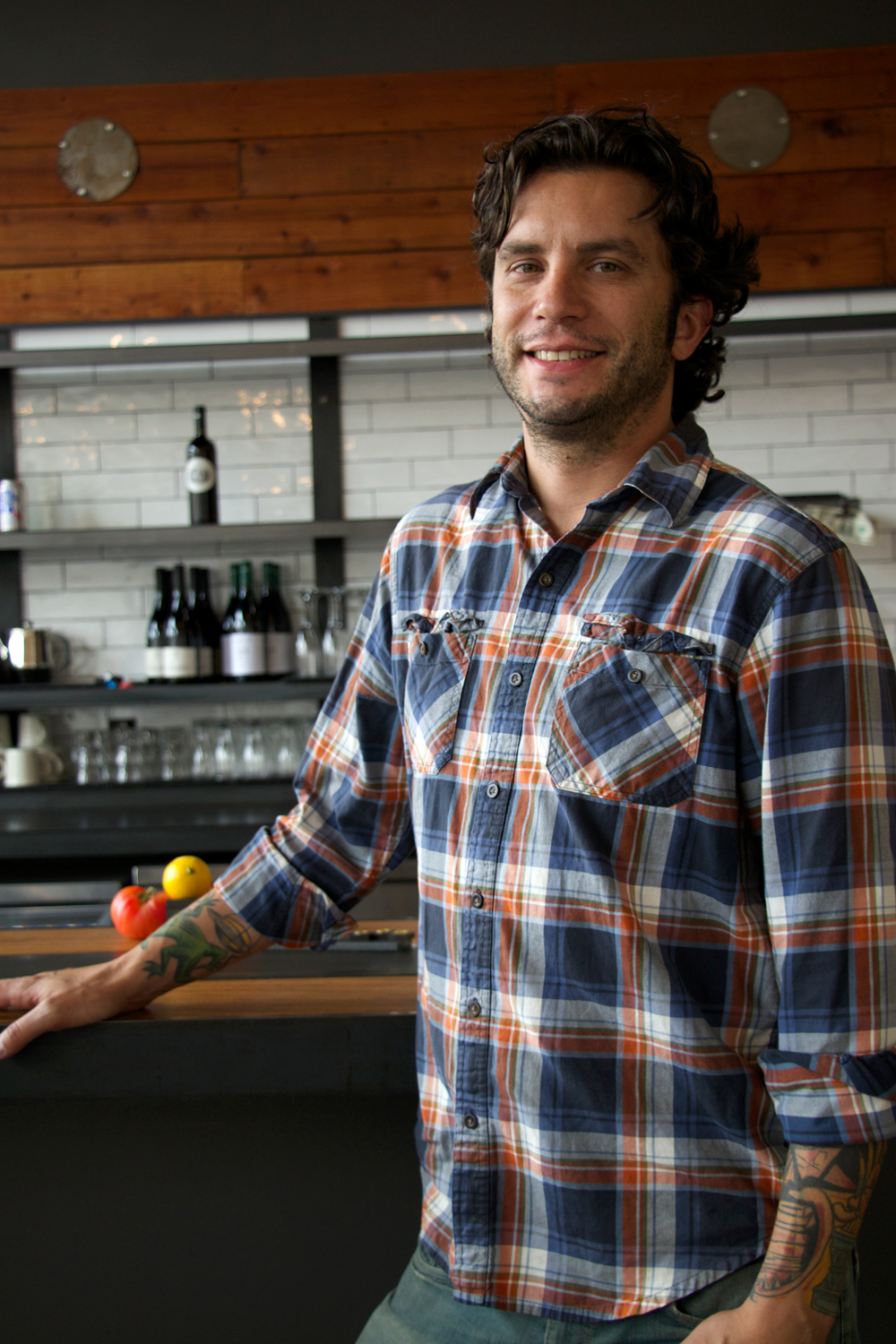 Café Underwood owner, Dominick Scala. Photo: Kim Westerman