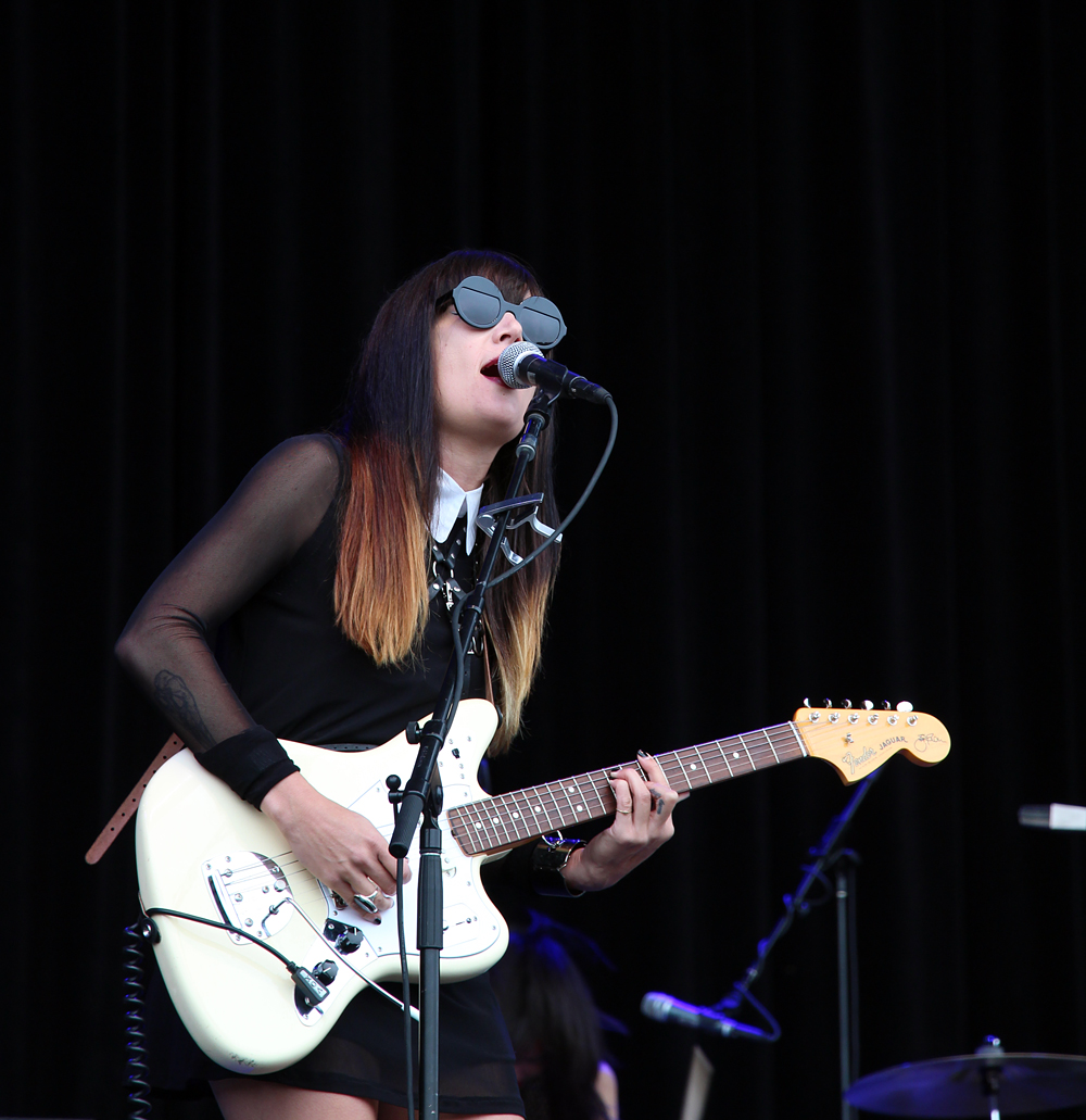 Jules from the Dum Dum Girls. Photo: Wendy Goodfriend