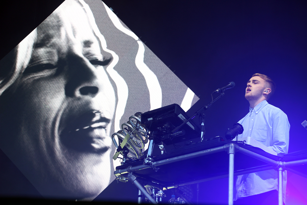 Guy Lawrence from Disclosure.  Photo: Wendy Goodfriend