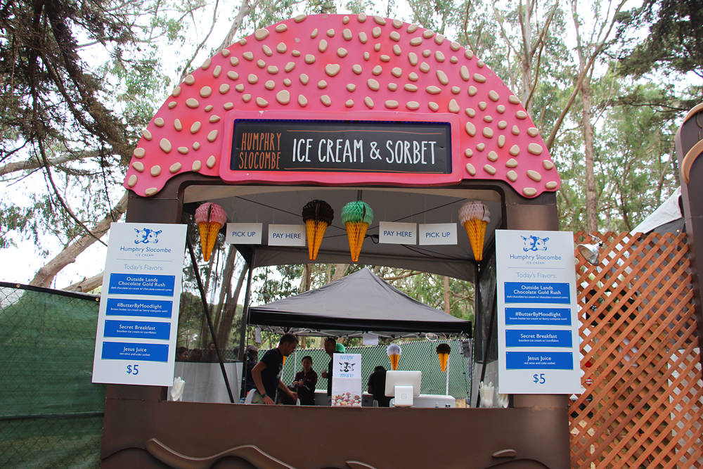 Humphry Slocombe booth in ChocoLands. Photo: Wendy Goodfriend