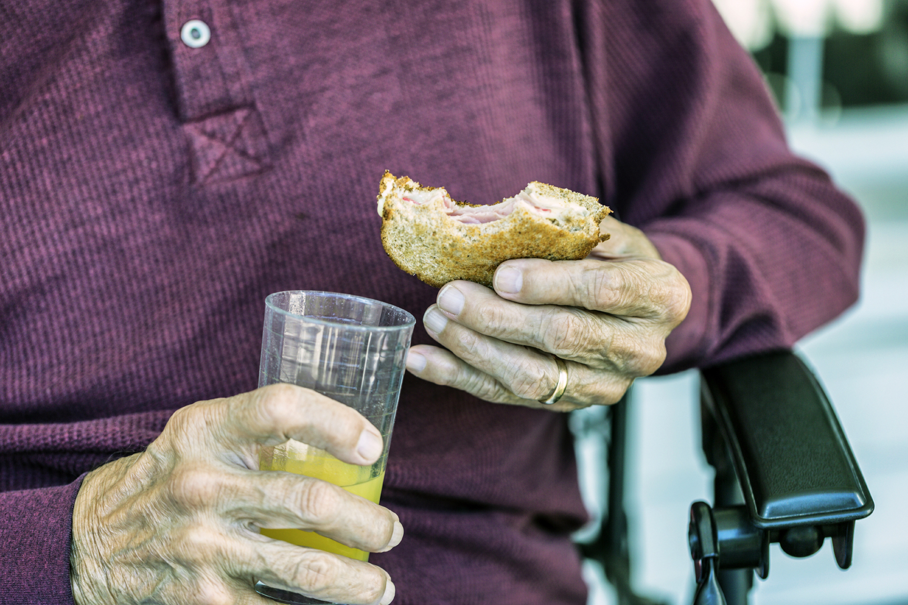 Malnourished seniors may be forgotten until they show up in the emergency room, often for another reason like an injury. Photo: Ted Gough/Willowpix/iStockphoto