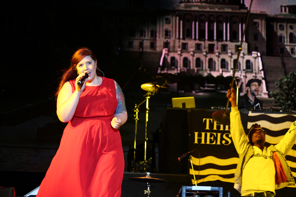 "Mary Lambert sings ""Same Love""."