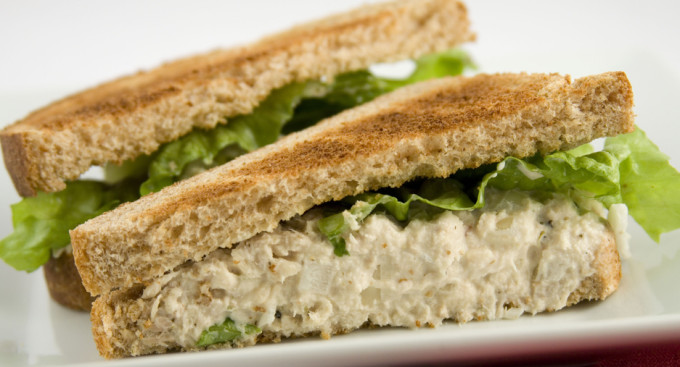 Tuna Fish sandwich.