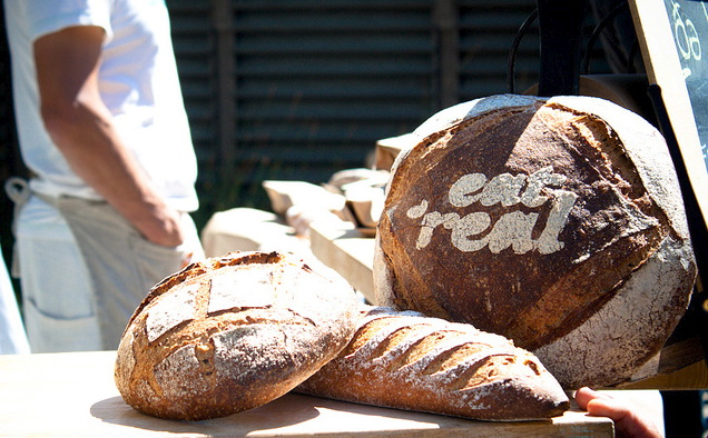 Eat Real bread made by Mike the Bejk. Photo courtesy of Eat Real Festival.