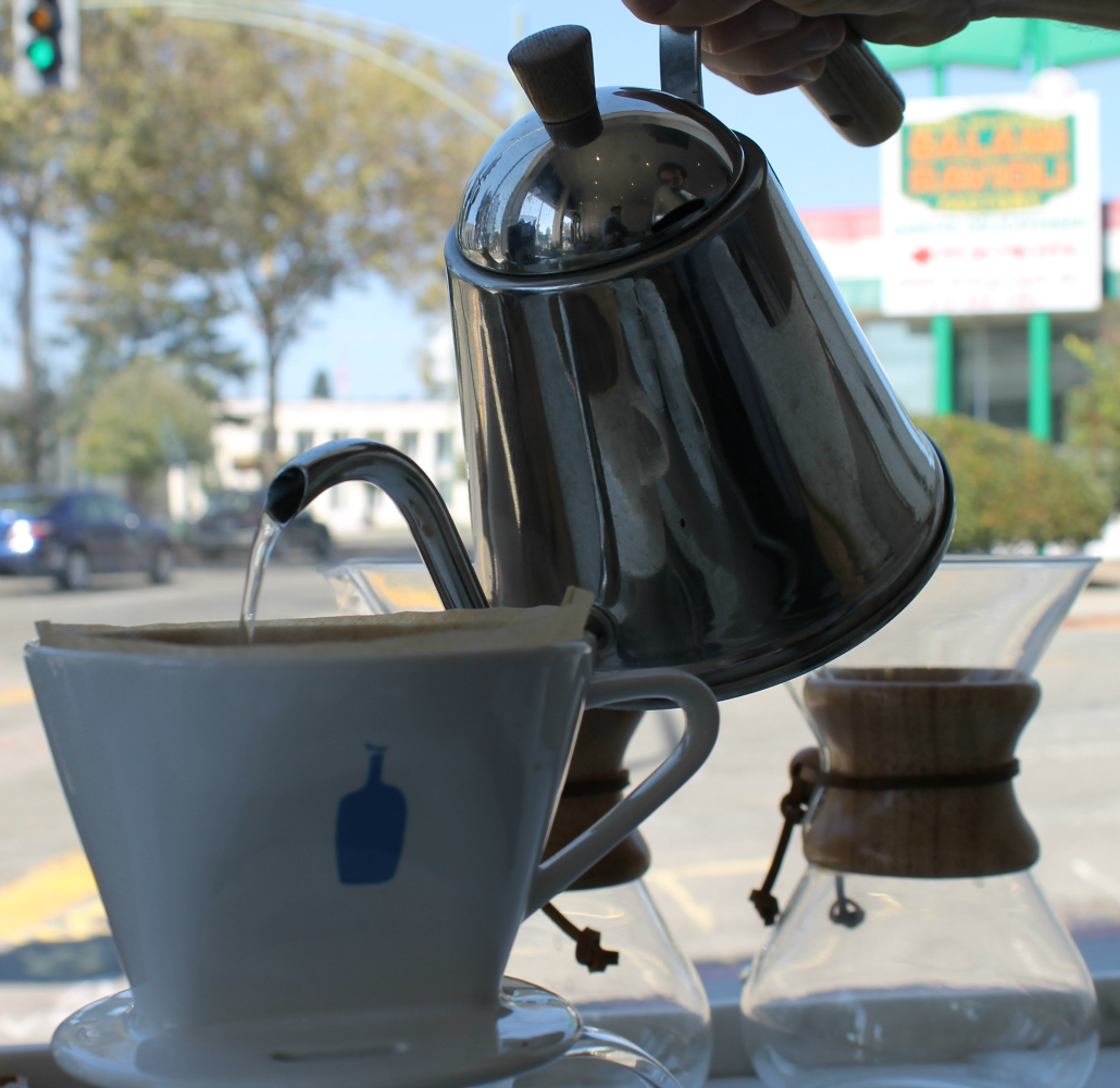 A cheap Brita filter can upgrade your water quality--and coffee making Photo: Shelby Pope