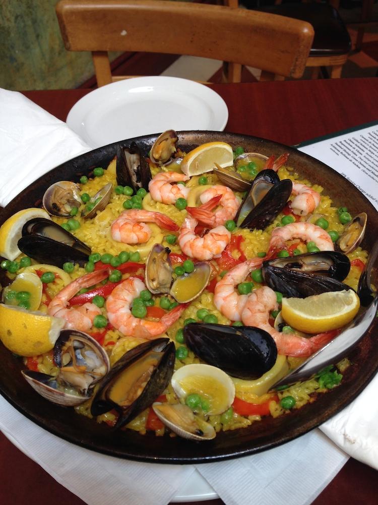The paella at Picaro. Photo: Angela Johnston