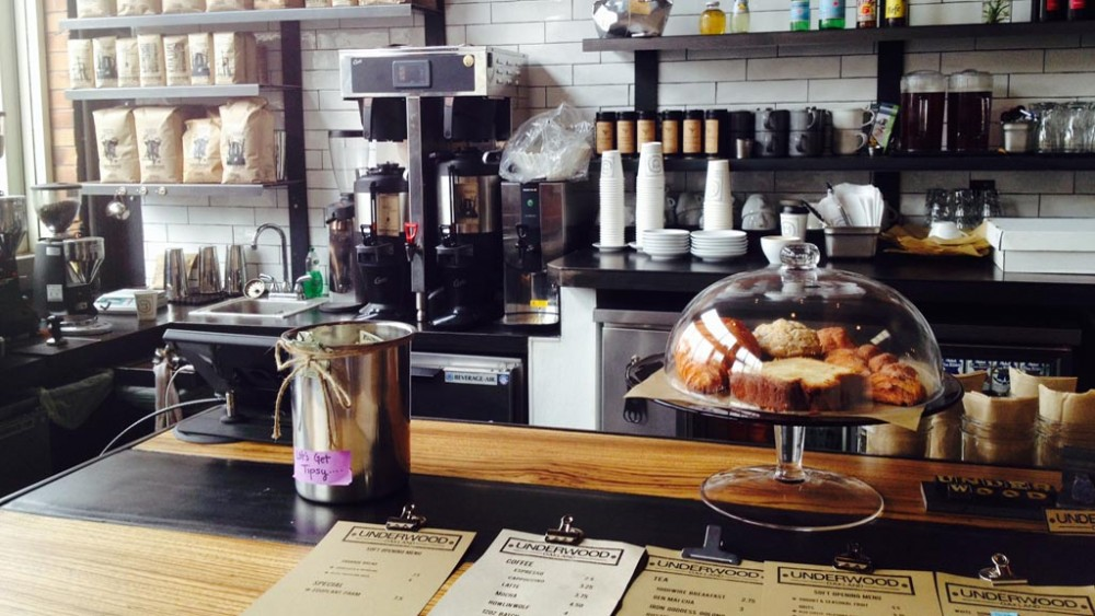 Broadway's newest cafe, Café Underwood. Photo: Adrienne DeAngelo