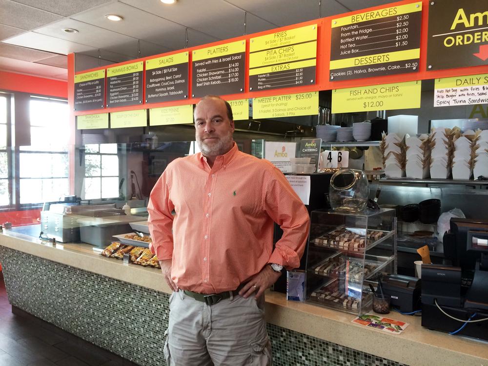 Jonathan Wornick opened Amba for the East Bay's Jewish community. Photo: Amba