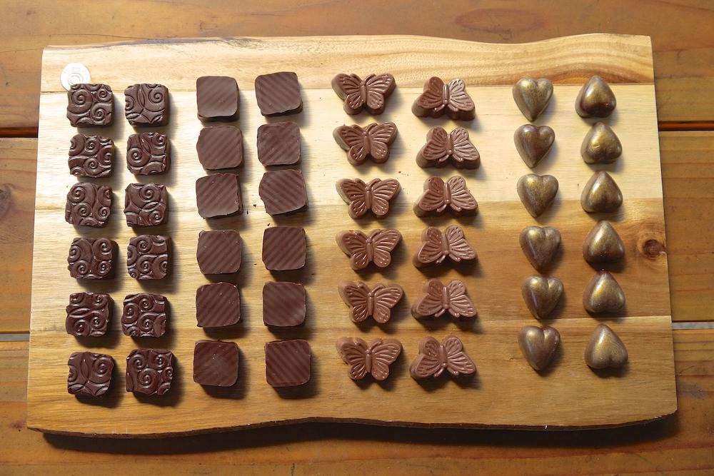 Charles chocolates sampler. photo: Lila Volkas.