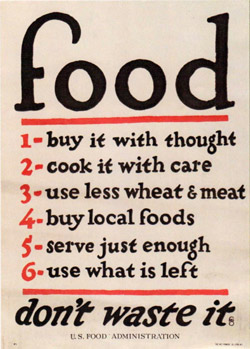 Food - Don't Waste It - U.S. Food Administration