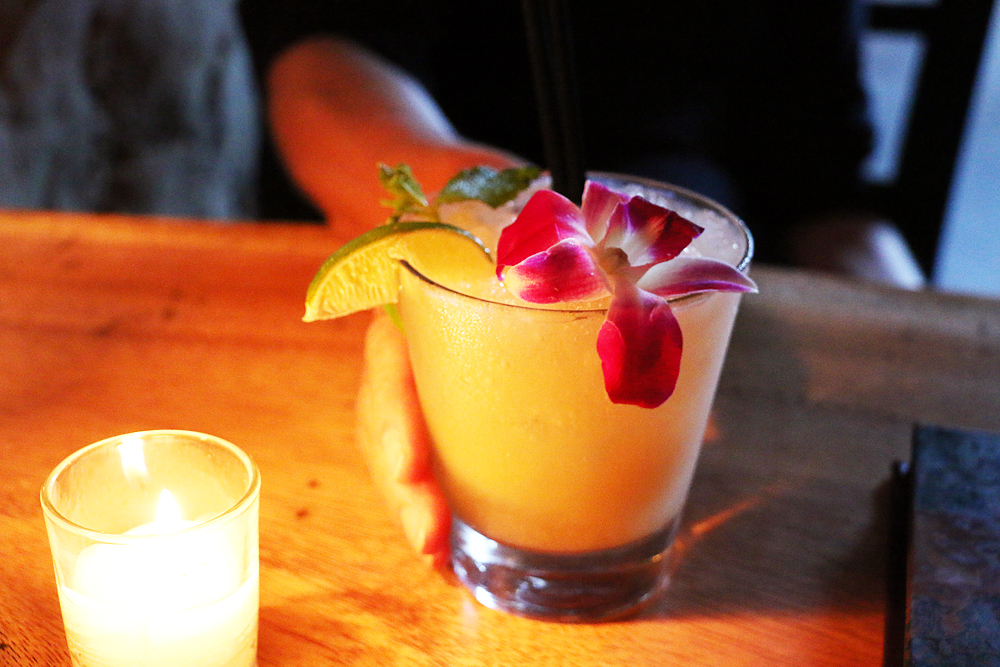 Trader Vic's classic Mai Tai at Longitude. Photo: Kim Westerman