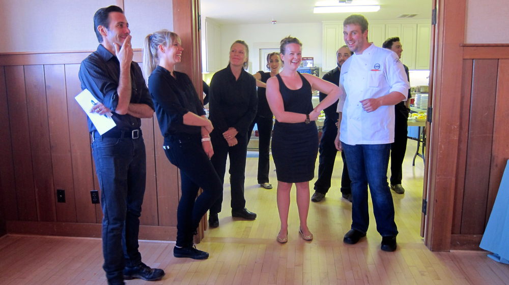 Chef Chris DiMinno and Staff