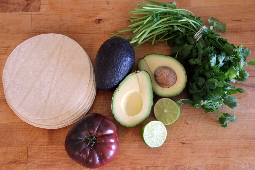 Ingredients for the Guacamole Graveyard. Photo: Wendy Goodfriend