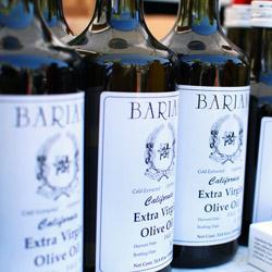 Bariana olive oil. Photo courtesy of CUESA
