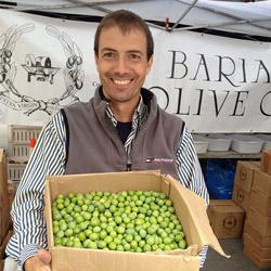 Sebastian Bariani of Bariani Olive Oil. Photo courtesy of CUESA