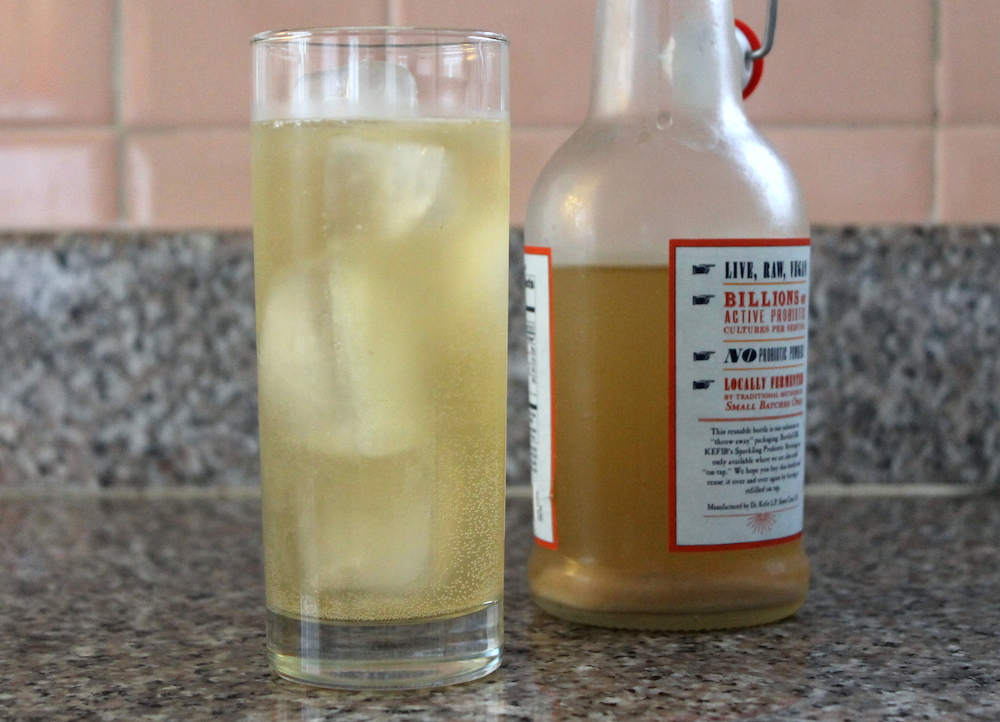 Homemade ginger beer on ice is a perfect afternoon treat. Photo: Kate Williams