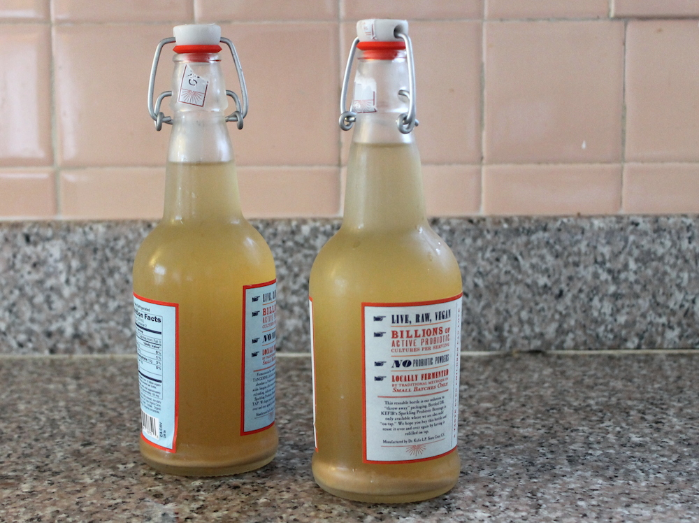 Homemade ginger beer. Photo: Kate Williams