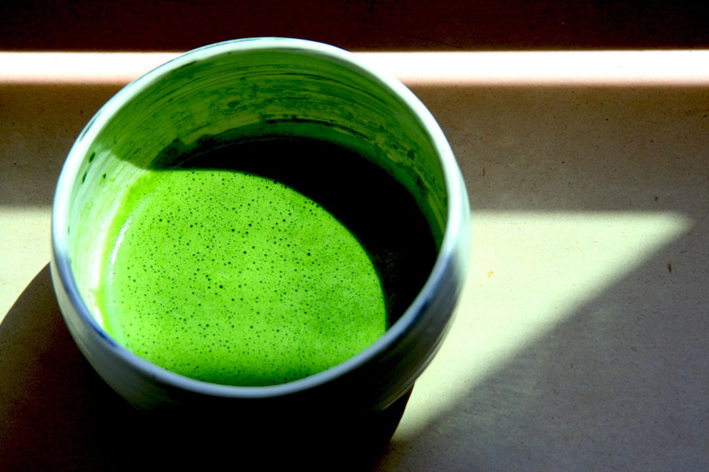 Whisked ceremonial-grade matcha, ready to drink. Image courtesy of Breakaway Matcha