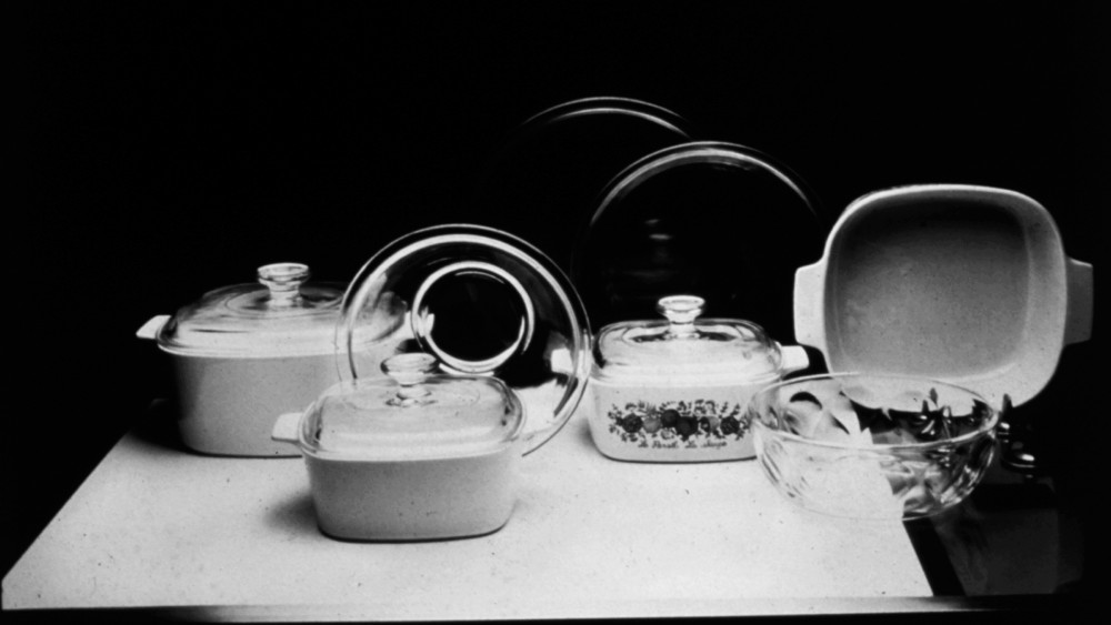 Classic CorningWare pieces, if not in your kitchen already, can be found at yard sales. Updated pieces are on store shelves. Corning spun off its consumer-products division in 1998, and it is now marketed by World Kitchen LLC. Photo: AP