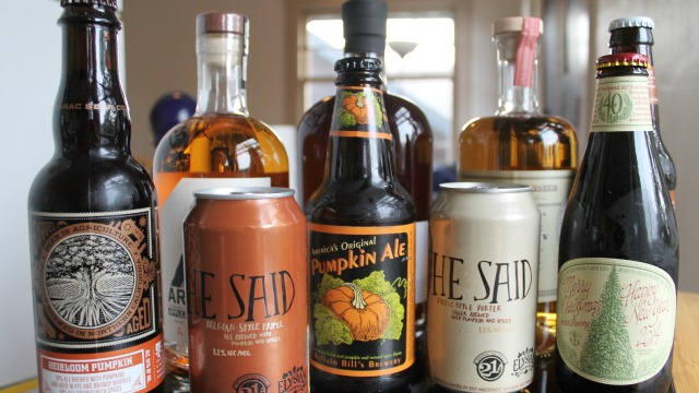 Seasonal beer and spirits from around the Bay Area