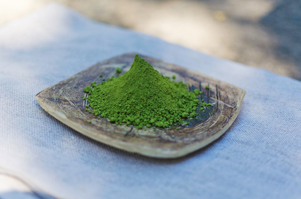 Dry matcha powder. Image courtesy of Breakaway Matcha