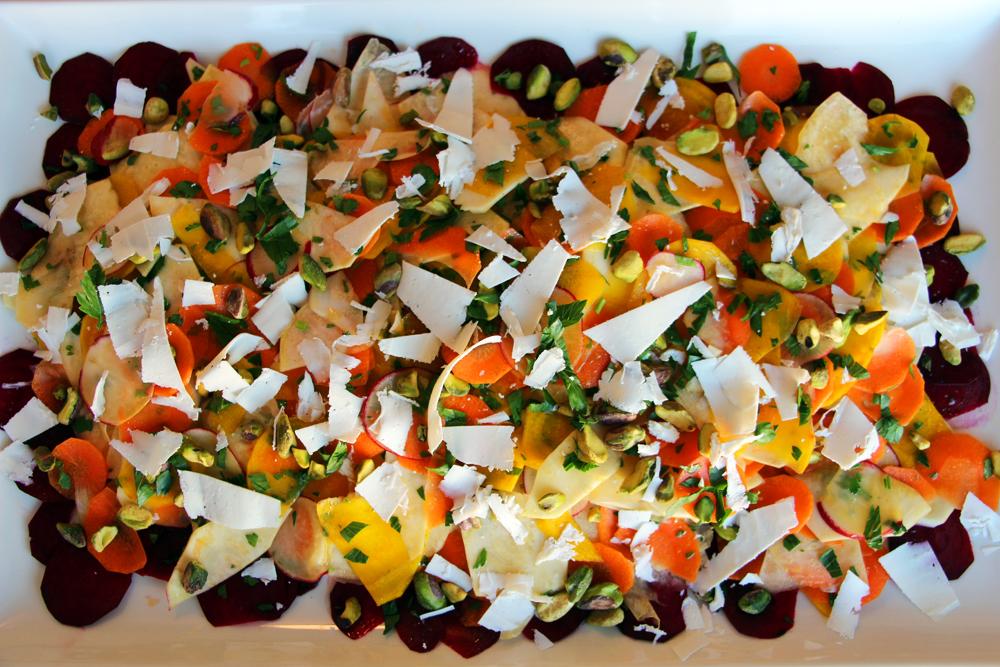 Adding Freshness to Thanksgiving: Shaved Winter Vegetable Salad