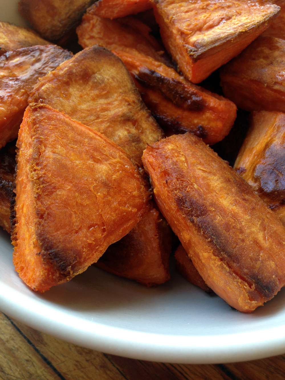 Sweet Potato Roasties. Photo: Kim Laidlaw