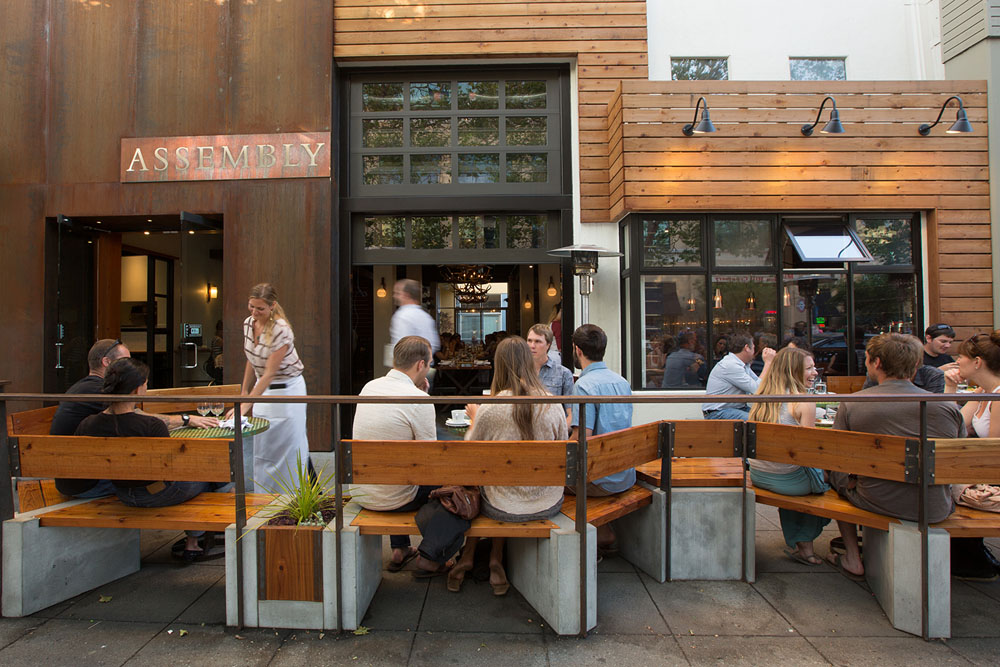 Located in downtown Santa Cruz, Assembly serves food throughout the day and has moderate prices. Photo: Molly Watson