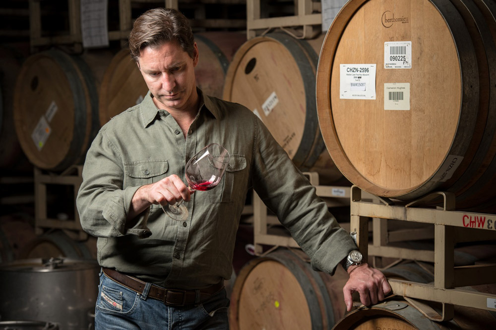 Prolific négociant Cameron Hughes today sells 400,000 cases of wine annually -- some originating in wine regions in other parts of the globe. Photo: Cameron Hughes Wine
