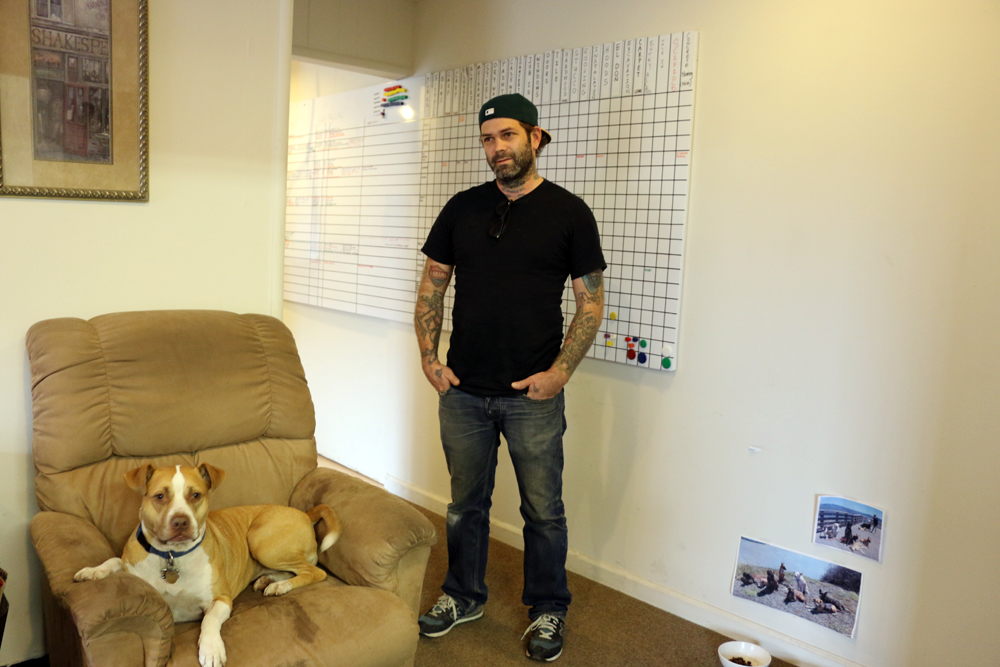 Travis Wirt, owner of Black Creek Builders. Photo: Kim Westerman