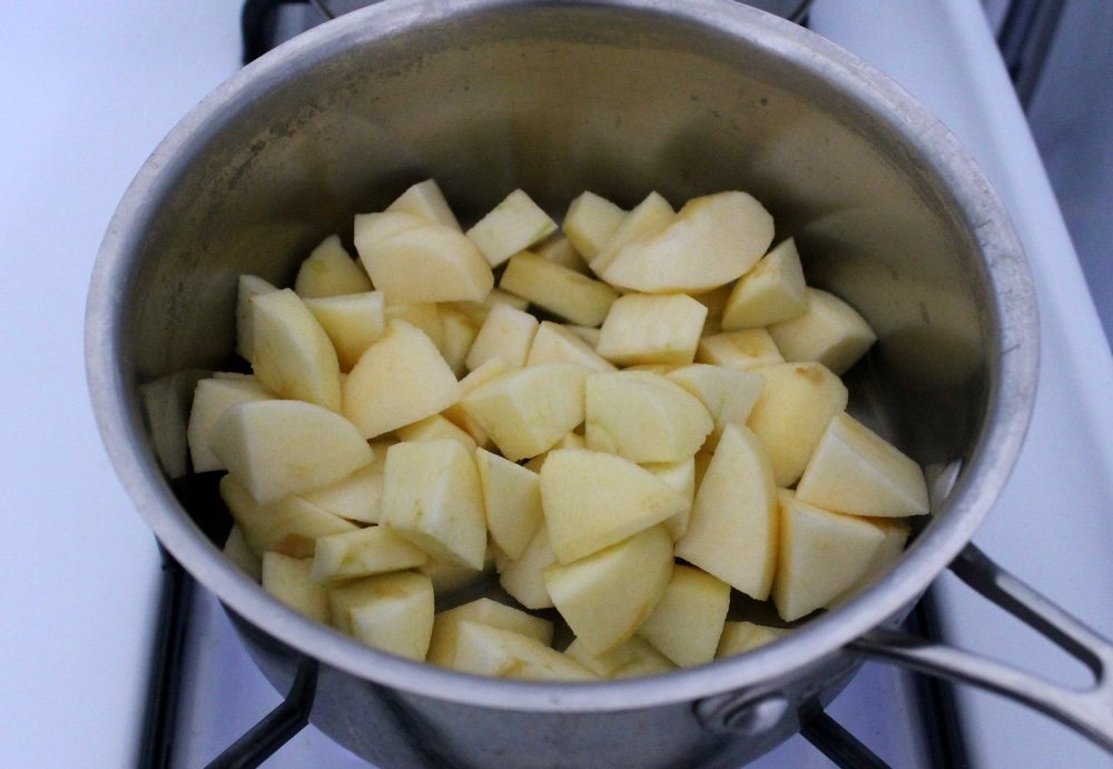 Homemade applesauce forms the base of the candies. Photo: Kate Williams