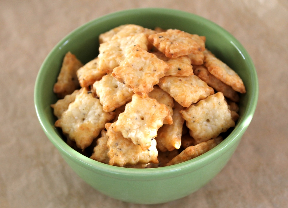Bake Homemade Cheese Crackers for Holiday Gift-Giving