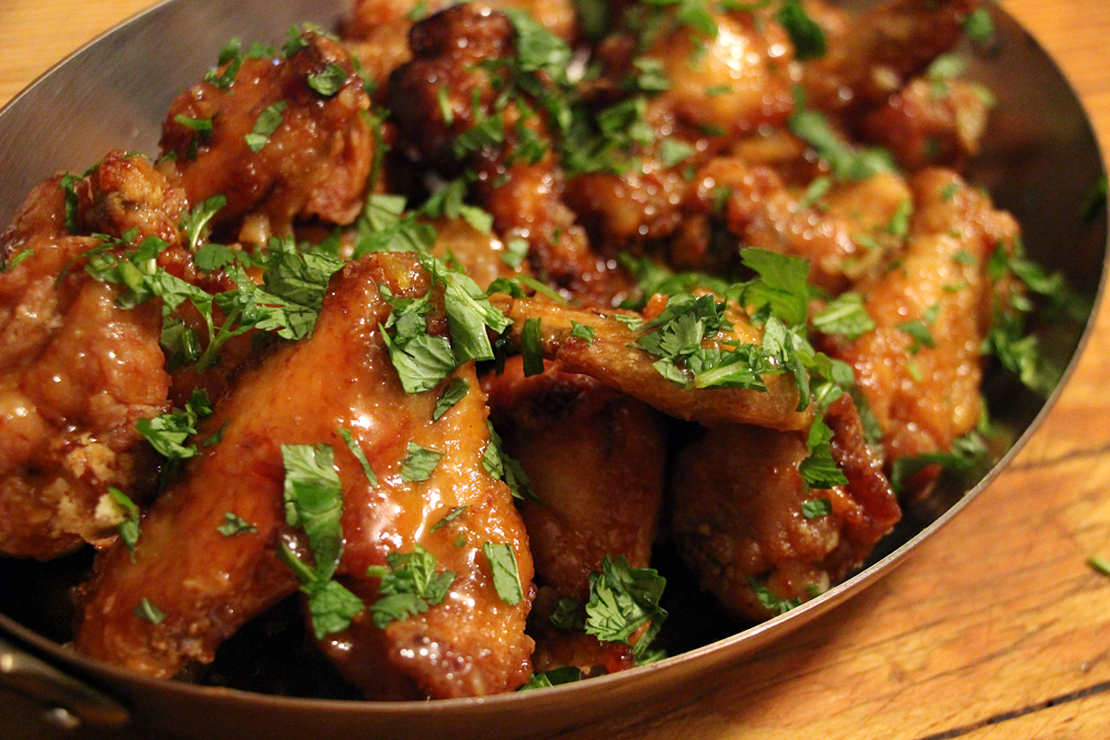 Spicy Vietnamese Fried Chicken Wings. Photo: Wendy Goodfriend