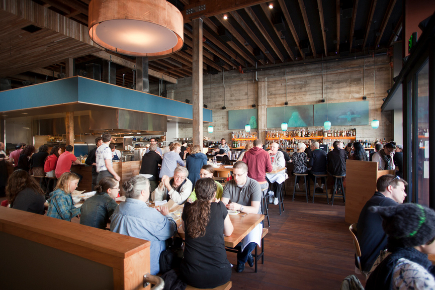 Interior at Comal in Berkeley. Photo courtesy of Comal