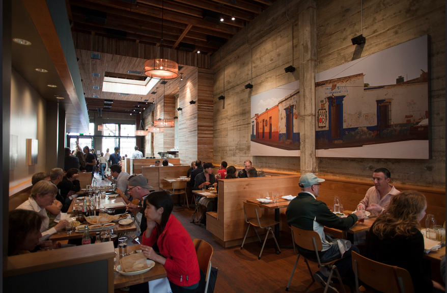Interior at Comal Restaurant in Berkeley. Photo courtesy of Comal